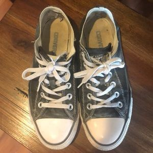Very worn converse, did construction work in these